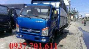 xe tải hyundai TMT 2,3 tấn thùng dài 4,1 mét  hỗ trợ vay ngân hàng