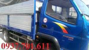 xe tải hyundai TMT 2.3 tấn thùng dài 4.1 mét giá rẻ hỗ trợ vay ngân hàng