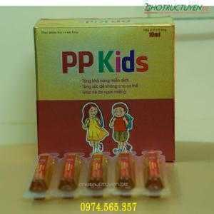 Siro cho trẻ lười ăn PP-KIDS (Dược phẩm 120) – Tìm đại lý phân phối toàn quốc
