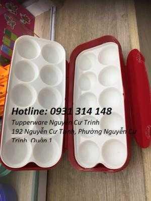 Tuppeware hộp bảo quản trứng, Hộp bảo quản trứng gà, Hộp bảo quản trứng vịt,giữ nguyên độ tươi ngon, tránh lây nhiễm chéo thực phẩm trong tủ lạnh