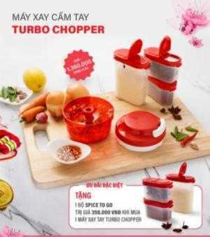 Tupperware Khuyến mại cho chiếc máy xay Cực Tiện Turbo Chopper