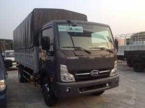 Xe tải veam VT651 trọng tải 6t5 thùng bạt trả góp 80%