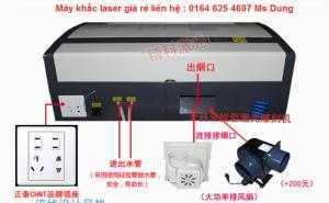 Máy Laser khắc dấu cao su