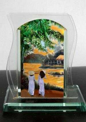 Đặt làm tranh cát ở đâu quà tặng dành cho dịp lễ tết