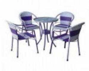 Bàn ghế cafe sân vườn giá rẻ nhất hgh501
