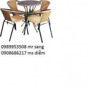 Bàn ghế cafe giá rẻ tại xưởng hgh507