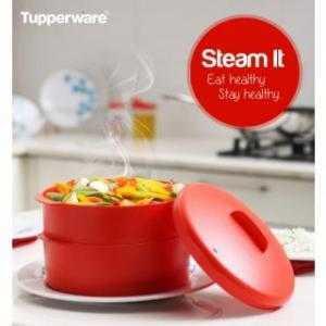 Xửng hấp thông minh 2 tầng- xửng hấp Tupperware , xửng hấp Steam It
