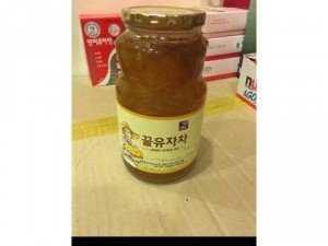 Mật ong chanh vàng Hàn quốc
