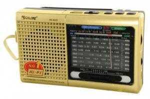 Đài Radio 9 Band Đọc Usb, Thẻ nhớ Golon RX-6633