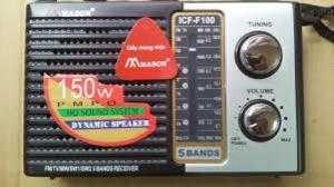 RADIO MASON ICF-F100 Chính hãng