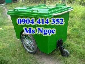 Xe thu gom rác 1000 lít nhựa composite. Cung cấp thùng chở rác có bánh xe 480 lít, thùng rác đẹp giá rẻ tp.HCM