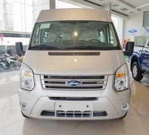 Quận 9: Ford Transit 2017 giá tốt cuối năm + Gói ưu đãi đặc biệt cuối năm