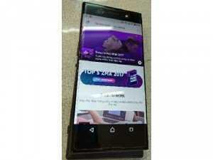 Sony xa1 Ultra màu đen