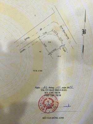 Đất 2 mặt tiền 12,66m x 17m ấp 5 xã Phạm Văn Cội, Củ Chi