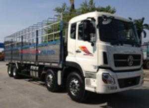 Bán xe tải thùng 4 chân YC310 (8x4) DongFeng hoàng huy nhập khẩu 2017 - 2018