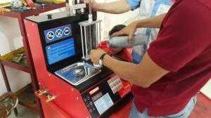 Titano T2C. Hệ thống kiểm tra và súc rửa kim phun xe máy