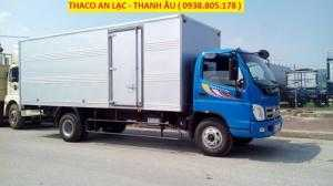 Giá xe 7 tấn, thùng dài 6,15m, Ollin700B thaco trường hải 2017, bán trả góp trên toàn quốc.