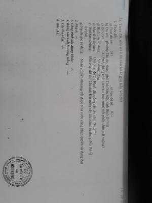 Bán đất sổ riêng 10 x 30 phường Tân An – tp. Thủ Dầu Một – Bình Dương