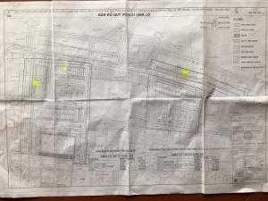 Bảng đồ quy hoạch đất nền dự án thôn yên lãng , yên phong bắc ninh