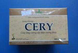 sản phẩm trà CERY, CHẤT  LƯỢNG- Sử dụng chữa bệnh GOUT, thấp khớp, nhức mỏi tốt