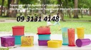 Tupperware Hộp bảo quản thực phẩm khô như bánh, kẹo, mứt các loại,