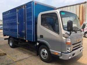 Xe tải JAC 3.45 Tấn đầu vuông, máy ISUZU, đời 2017, thùng dài 4.3m Giá xe tải JAC 3.5 Tấn