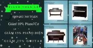 Đàn Piano giá giảm 15%