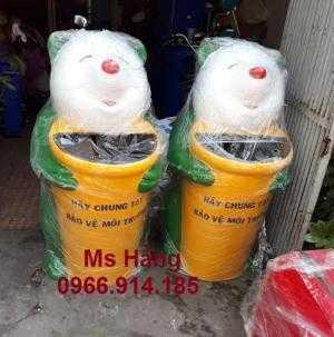 Thùng rác hình con vật,thùng rác hình con thú giá rẻ