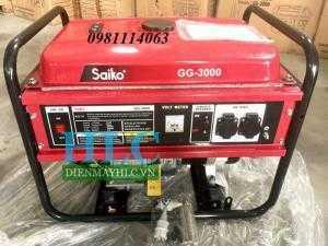 Máy phát điện Saiko GG-2000 và GG-3000 giá rẻ