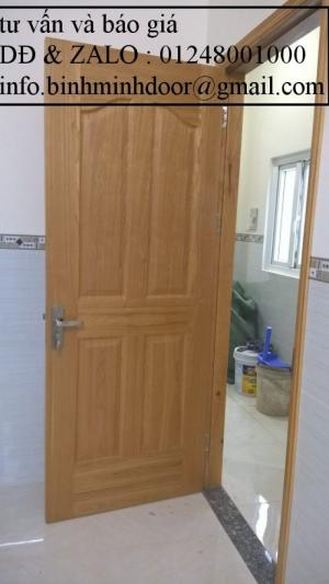 Báo giá cửa nhựa vân gỗ