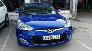 Bán Hyundai Velosrter 3 cửa màu xanh 2011 nhập nội địa