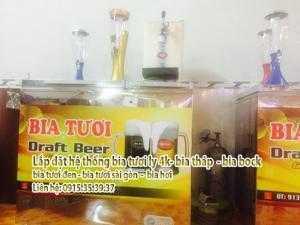 Tư vấn lắp đặt hệ thống bán bia tươi - mở quán bia tươi bia hơi hợp lý nhất