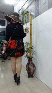 Đầm korea co giản . Chân váy 3D bông đẹp