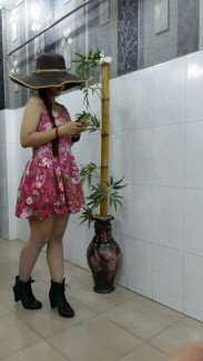 Đầm ren Korea hồng quá dễ thương