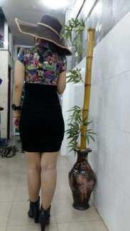 Đầm ren váy đen xinh cực sốc
