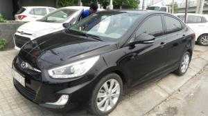 Bán Hyundai Accent Blue 1.4AT màu đen vip số tự động nhập Hàn Quốc 2013