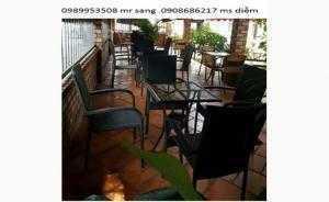 Bàn ghế cafe giá rẻ nhất 006