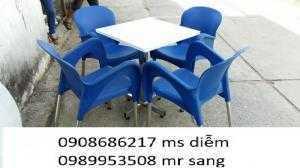 Bàn ghế nhựa giá rẻ hgh08