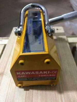 Phân phối nam châm cẩu hàng hiệu PML 200kg, giá cả nam châm cẩu hàng 200kg Kawasaki tay gạt rẻ nhất.