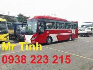 Thời gian giao xe khách 29 30 34 chỗ bầu hơi thaco town tb85 mẫu mới nhất