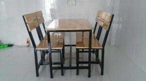 Ghế gỗ quán nhậu giá rẻ nhất tại xưởng sản xuất hgh0007
