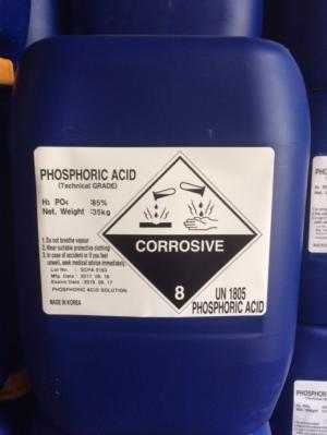 H3PO4 85% - phosphoric acid