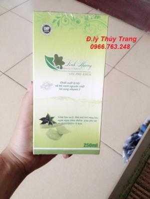 Làm hồng, se khít, hỗ trợ bệnh nhân viêm nhiễm phụ khoa với dung dịch vệ sinh Linh Hương.