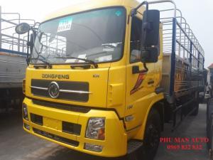 xe tải dongfeng Hoàng Huy 9,150t_cho vay trả góp, xe tải thùng khung mui