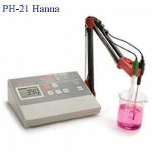 Máy đo PH để bàn HI-2211 Hanna Ý