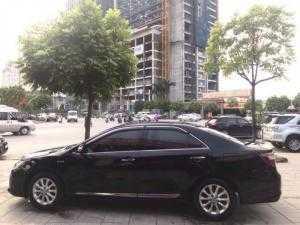 Cần tiền nên bán Camry 2.0E 2015 đen tự động xe đẹp như mới.