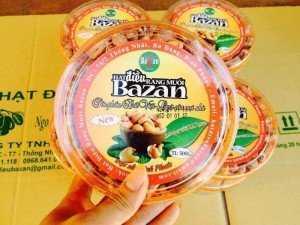 Hạt điều rang muối Bazan hộp 500gr