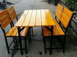 Ghế gỗ Quán ăn, nhà hàng, cf