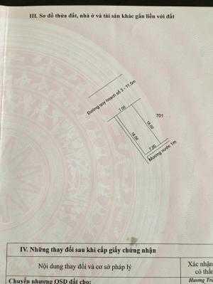 Bán đất nền 126m2(7x18) tại KQH Hương An cách Bến Xe phía Bắc 400m