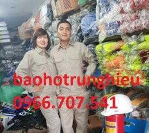 Xưởng may bảo hộ trung hiếu, đồng phục công nhân giá rẻ